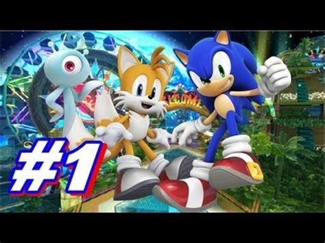 let's play sonic colors wii walkthrough part 1 youtube
