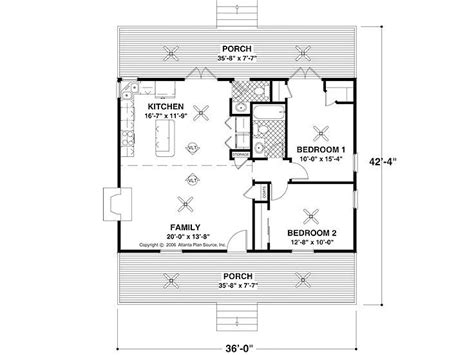 buy architectural plans simple floor plan