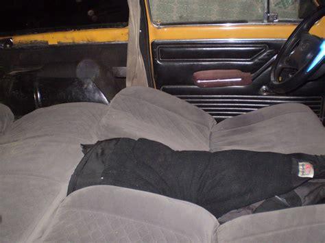 car bed car seat niva resource sleep in your niva in comfort