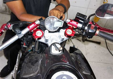 Stabilizer Stang Stir Cnc Ride It aksesoris motor murah images