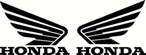cool honda logos honda wings set vinyl decal atv quad tank and 26 similar items