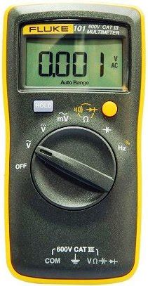 Multimeter Fluke 101 review of the fluke 101 multimeter
