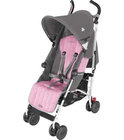 pink umbrella stroller maclaren quest folding travel