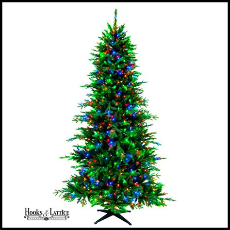 hollybrook tree christmas trees artificial hooks and lattice