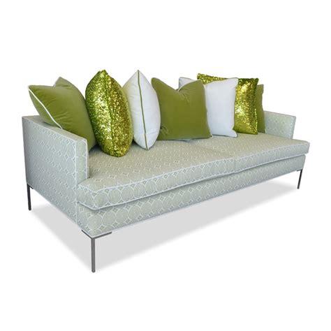 green modern sofa thesofa