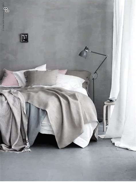 linen textiles from ikea who knew grey walls beautiful - Ikea Linen Bedding