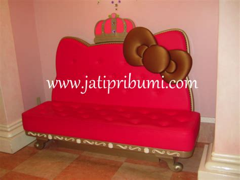Sofa Hello Kity sofa hello jati pribumi