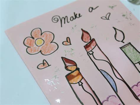 ways to make cards 3 ways to make birthday cards wikihow