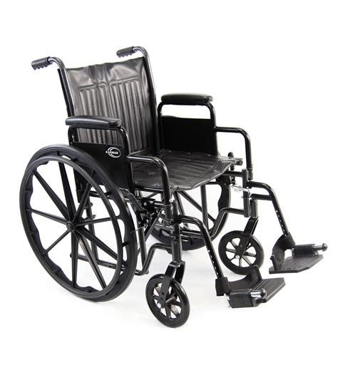 wheel chair kn 700t k0001 deluxe standard wheelchair karman healthcare