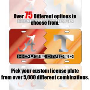 house plate custom house divided license plates and frames sport