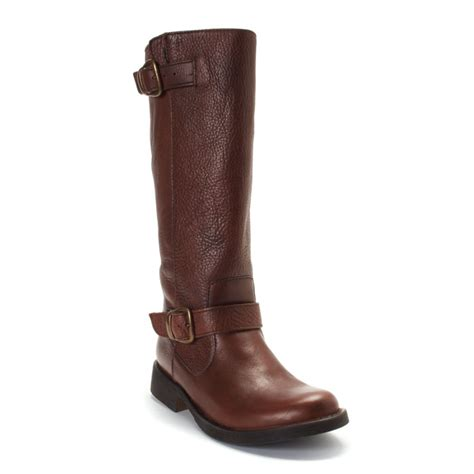 madden boots brown steve madden frenchh boots in brown lyst