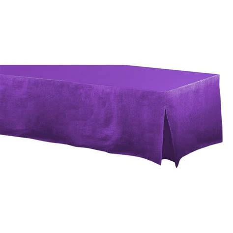 fitted table cover for standard 6 foot rectangular table