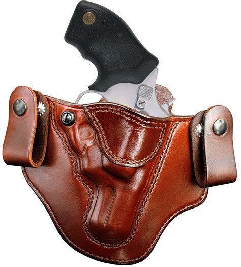 leather gun holster brigade holsters m 12 revolver iwb holster
