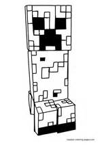 minecraft creeper coloring page minecraft coloring pages