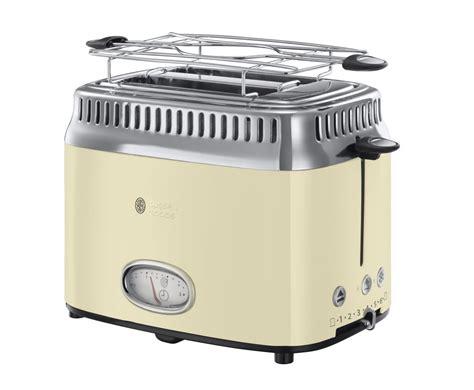 Russel Hobbs Toaster Russell Hobbs Toaster Retro Vintage Cream 21682 56