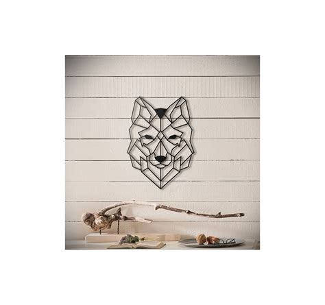 Decoration Loup d 233 coration murale m 233 tal loup artwall and co