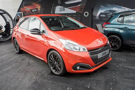 Peugeot Orange Photo Peugeot 208 Restyl 233 E Orange Power Goodwood