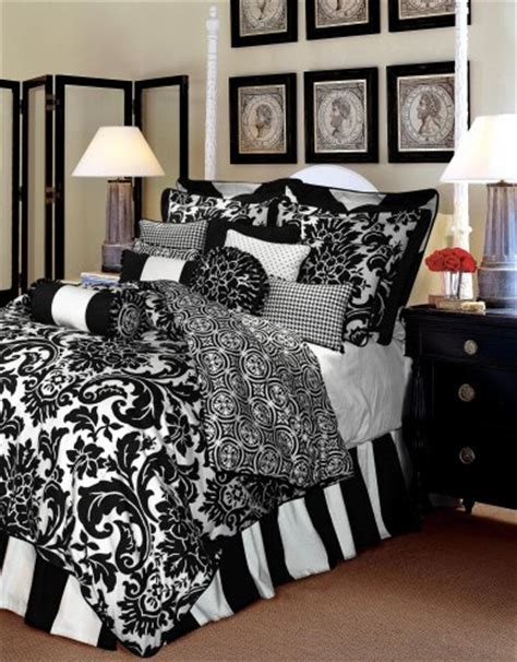 black and white damask bedding sweetest slumber