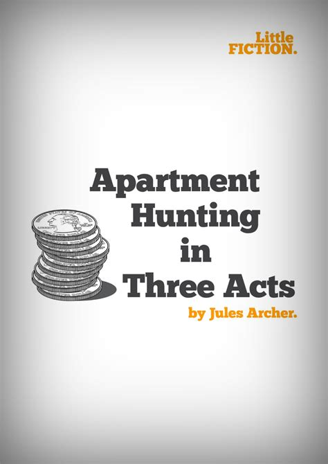 appartment hunting apartment hunting and little fiction jules just write