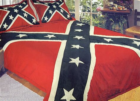 rebel flag comforter household confederate items