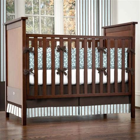 Brown Crib Bumper by 47 Best Images About Brown Blue Nursery Idea 1 On