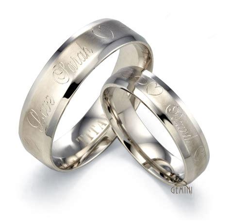 silver wedding titanium ring gmus094 price for