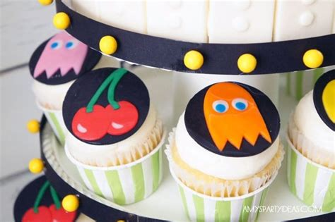 cupcake themed party games game on an ulitmate gaming party amy s party ideas