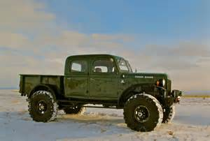 48 Dodge Power Wagon 1948 Dodge Power Wagon 4dr