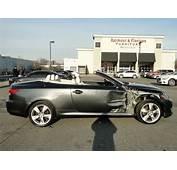 Wrecked 2010 Lexus IS C Convertible Repairable Rebuildable