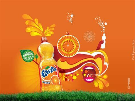 Naura Fanta fanta orange natura zielona trawa
