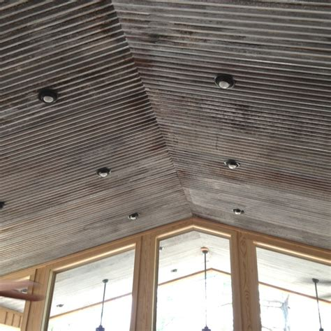 metal roof ceiling 25 best ideas about metal ceiling on rustic