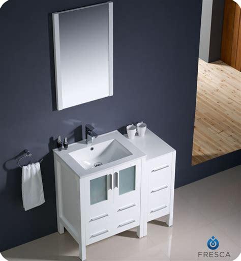 "Fresca Torino 36"" Modern Bathroom Vanity with Color"