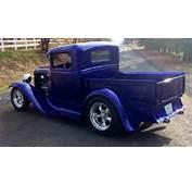 1929 FORD CUSTOM PICKUP  Side Pro 163100