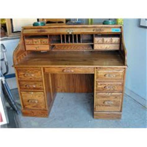 winners only oak roll top desk