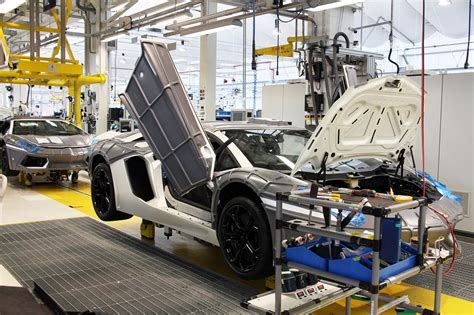lamborghini factory peek inside the lamborghini factory wired