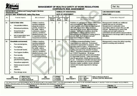 asbestos risk assessment template sampletemplatess sampletemplatess