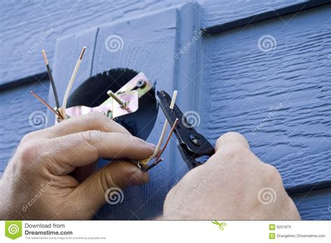 Fixing A Light Fixture Fixing A Light Fixture Horizontal Stock Images Image 6201874