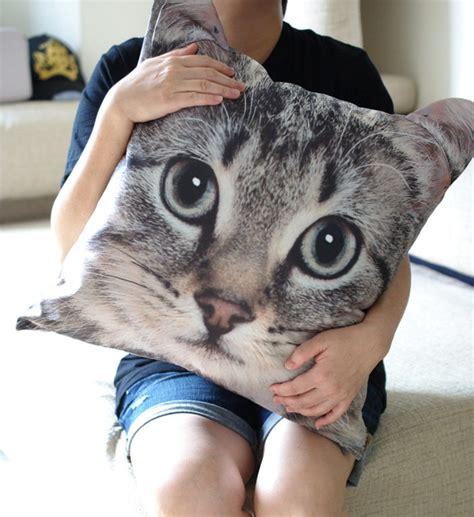 cuscini x cani borse e cuscini con stato il viso vostro gatto