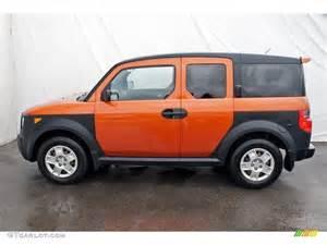 Orange Honda Element Tangerine Orange Metallic 2008 Honda Element Lx Exterior
