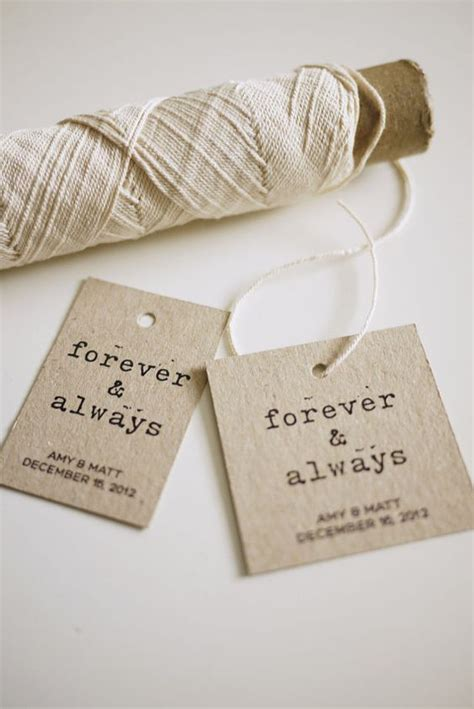 7 Diy Wedding Favors by Diy Printable Favor Tags Forever And Always By