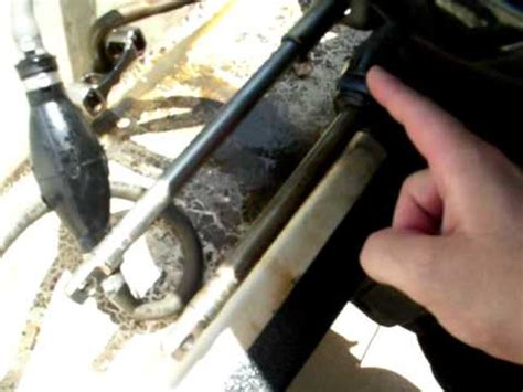 how to replace steering cable on an inboard boat help please outboard steering issue merc 125 pt 2