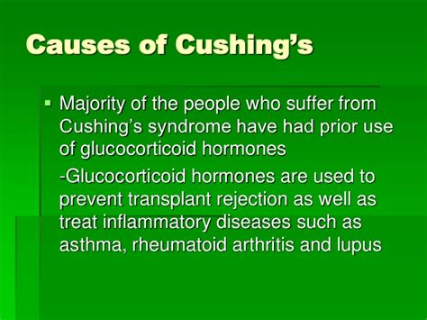 when to put a with cushing s disease cushing s