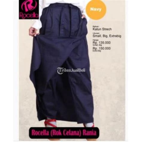 Harga Rok Celana Merk Rocella celana rok rocella rania polos model praktis new harga