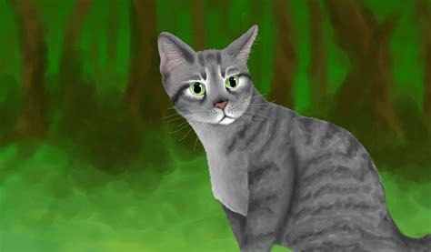 cat silver silver tabby warrior cat by owlmaddie on deviantart