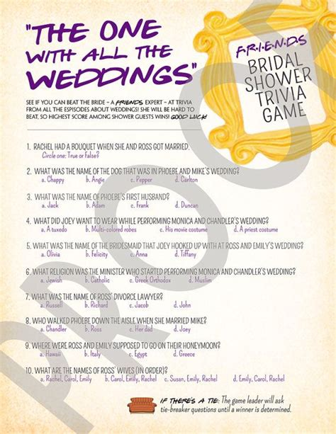 bridal shower trivia ideas 17 best images about wedding on football