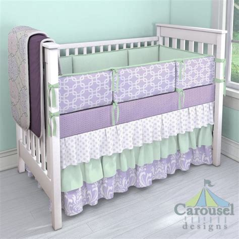 Purple Crib Bedding 1000 Ideas About Purple Baby Bedding On Purple Baby Rooms Lavender Nursery Decor
