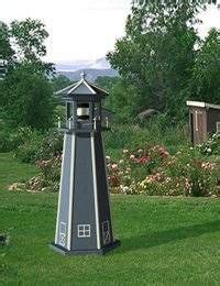 lighted  wooden lighthouse plan home