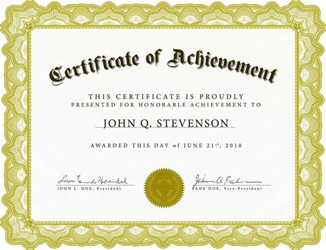 Free Award Certificate Templates For Powerpoint Archives Free Certificate Templates In Ppt Format