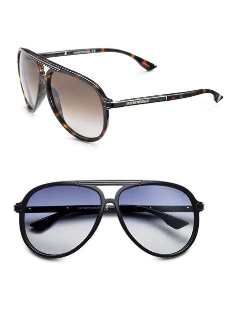 Emporio Armani Cheeky Lace H 619 emporio armani plastic aviator sunglasses in black for lyst
