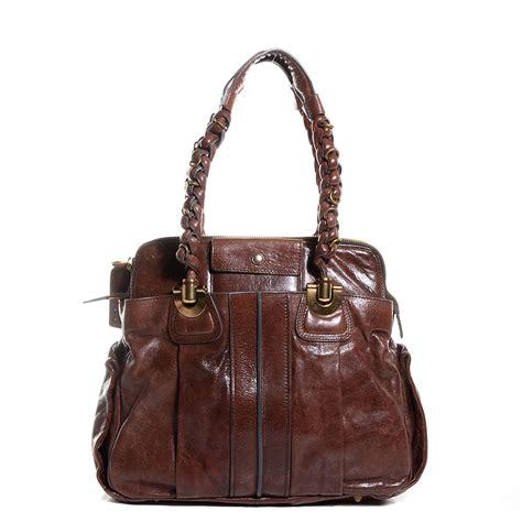Heloise Shoulder Bag by Lambskin Heloise Shoulder Bag Moka 94097
